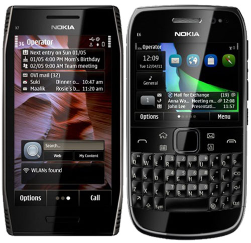 Nokia X7 và E6 công bố giá bán - 1