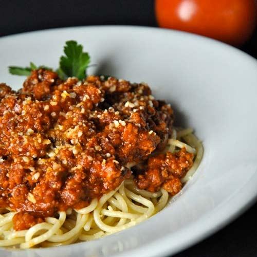 Mỳ Ý sốt cà thịt bò lừng danh - 9