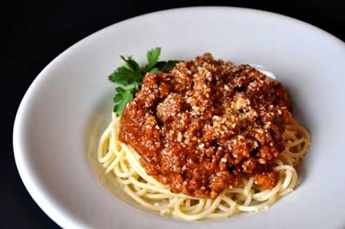 Mỳ Ý sốt cà thịt bò lừng danh - 8