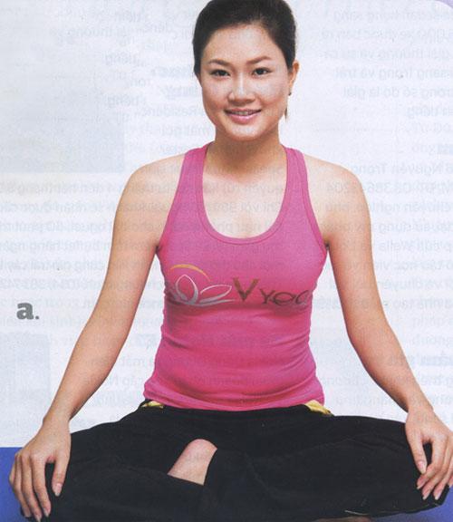 Bài tập yoga chống lão hóa - 1