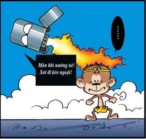 Tân Tây Du Ký (52): Ngộ Không cháy xém - 10
