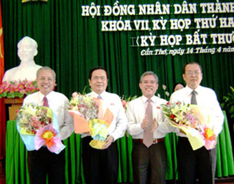 TP Cần Thơ: Bầu chủ tịch UBND TP mới - 1