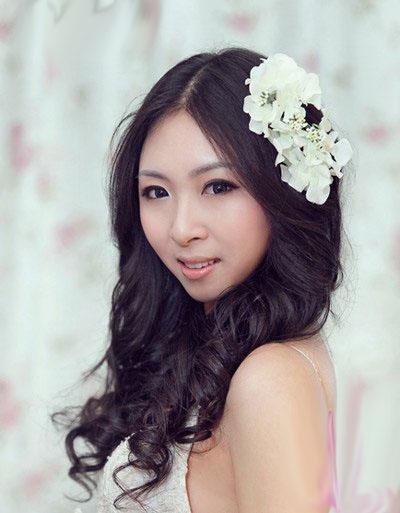 10 kiểu tóc tuyệt vời dành cho cô dâu - 2