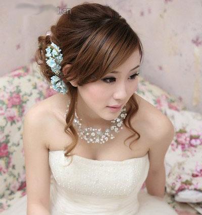 10 kiểu tóc tuyệt vời dành cho cô dâu - 5
