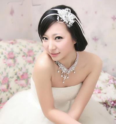 10 kiểu tóc tuyệt vời dành cho cô dâu - 6