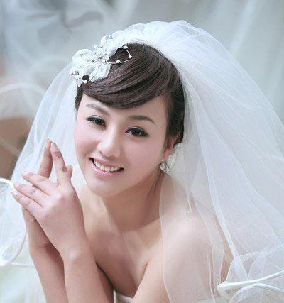 10 kiểu tóc tuyệt vời dành cho cô dâu - 7