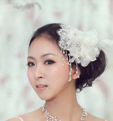 10 kiểu tóc tuyệt vời dành cho cô dâu - 9