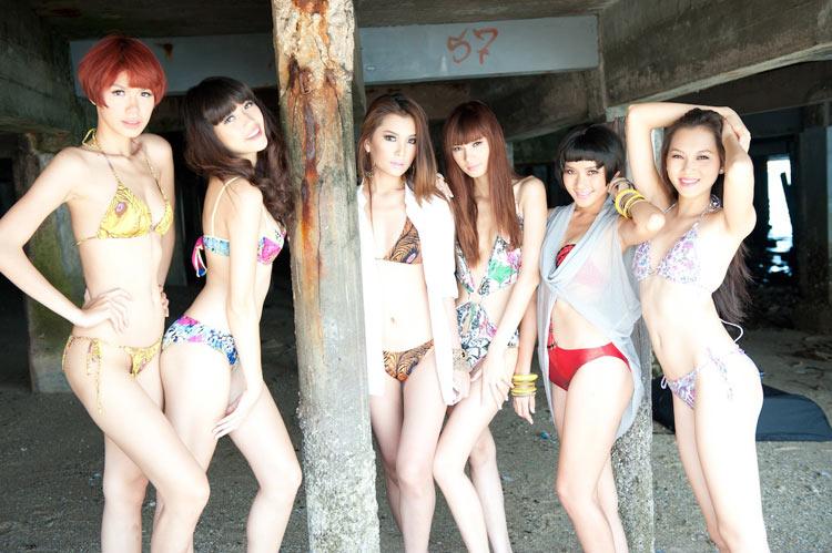 Ngọc Trinh khoe đồ bơi gợi cảm ở Thái - 5