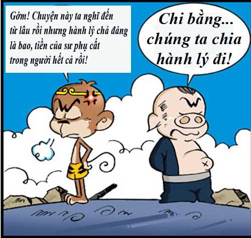 Tân Tây Du Ký (54): Vay tiền Bồ Tát - 6