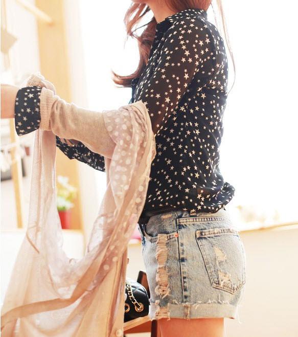 3 cách mix đồ thật chất với short jeans - 28