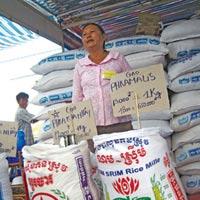 Giá gạo: Ăn mắc, xuất rẻ