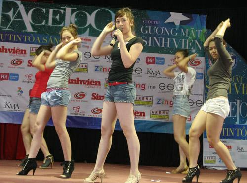 Ấn tượng năng khiếu của các thí sinh Facelook 2011 - 3
