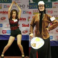 Ấn tượng năng khiếu của các thí sinh Facelook 2011