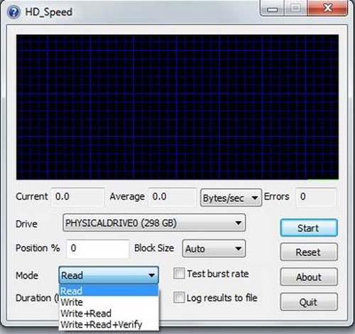 """Kiểm tra tốc độ để """"khám"""" sức khỏe của ổ cứng - 2"""