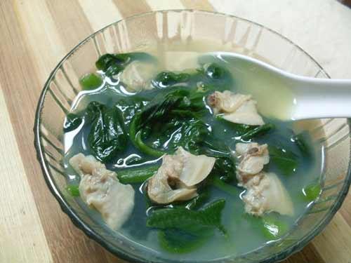 Mát lành canh ngao nấu rau mùng tơi - 7