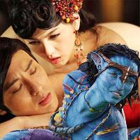 Avatar 'bại' dưới tay phim sex 3D