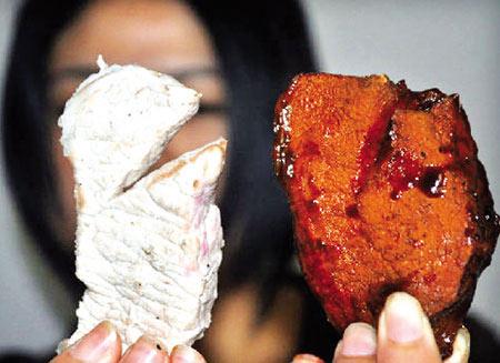 Phụ gia biến thịt lợn thành thịt bò - 1