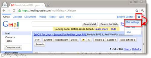 Tắt bỏ tính năng tự động tạo Contact trong Gmail - 1