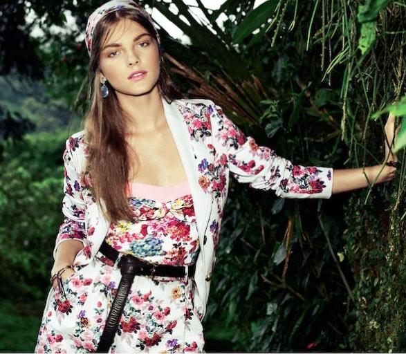 10 mẫu váy hoa kiều diễm để đón hè - 6