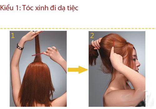 3 kiểu tóc thanh lịch, sang trọng đi dự tiệc - 2
