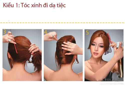 3 kiểu tóc thanh lịch, sang trọng đi dự tiệc - 3