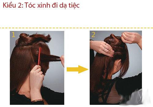 3 kiểu tóc thanh lịch, sang trọng đi dự tiệc - 5