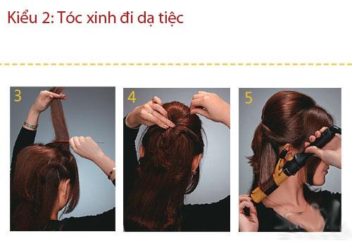 3 kiểu tóc thanh lịch, sang trọng đi dự tiệc - 6