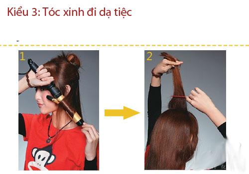 3 kiểu tóc thanh lịch, sang trọng đi dự tiệc - 8