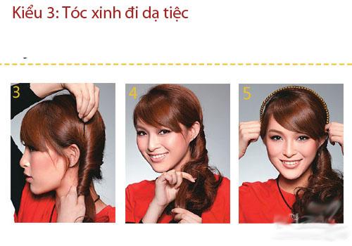 3 kiểu tóc thanh lịch, sang trọng đi dự tiệc - 9