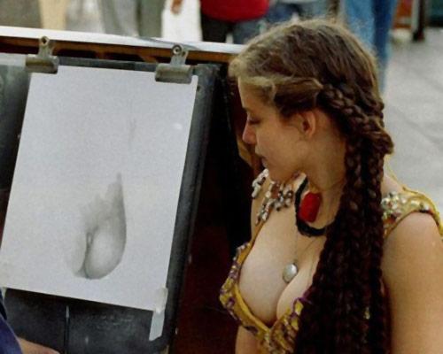 Hình ảnh lạ về những cô nàng đỏm dáng - 1