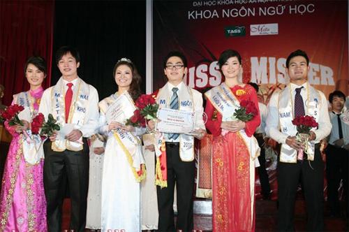 Sắc màu Việt - Trung trong đêm chung kết Miss & Mr Ngôn ngữ 2011 - 15