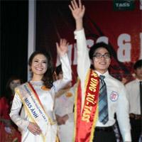 Sắc màu Việt - Trung trong đêm chung kết Miss & Mr Ngôn ngữ 2011