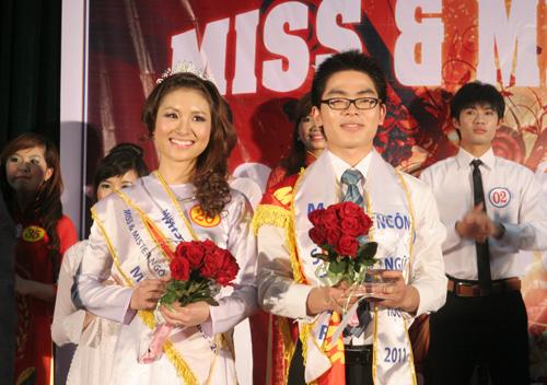 Sắc màu Việt - Trung trong đêm chung kết Miss & Mr Ngôn ngữ 2011 - 1