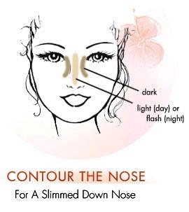 Phối màu sáng tối cho mũi cao lên - 2