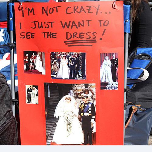 Lộ diện váy cưới được mong đợi nhất thế giới - 1
