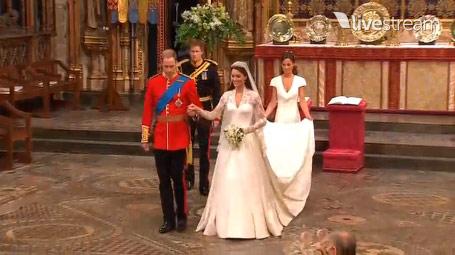 Tường thuật lễ cưới hoàng tử Anh William - 7
