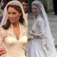 Lộ diện váy cưới được mong đợi nhất thế giới