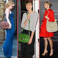 Sao đa phong cách với túi đeo vai