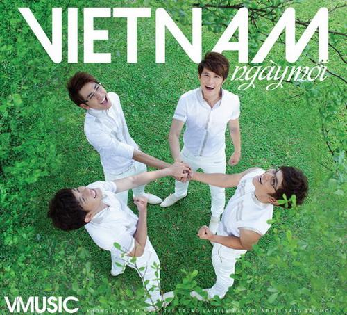 """V.Music """"bật mí"""" ý nghĩa tên nhóm - 1"""