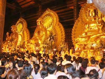 Chuyện đại gia xây chùa Bái Đính, Tin tức trong ngày, bai dinh, chua bai dinh, dai gia, an chay, kin tieng