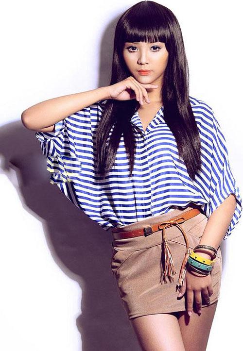 Người mẫu Nhật 34 tuổi trẻ hơn Bảo Trân? - 1
