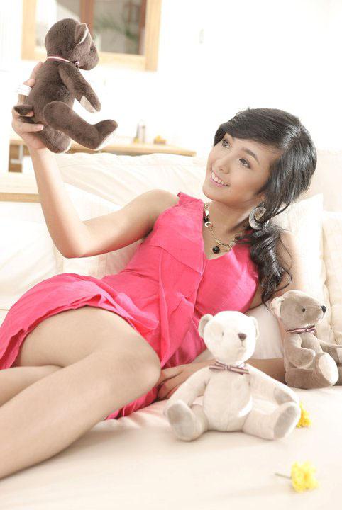 Người mẫu Nhật 34 tuổi trẻ hơn Bảo Trân? - 5