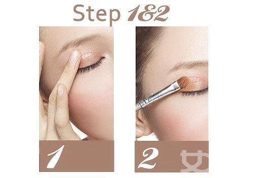 """Trang điểm mắt để """"mê hoặc"""" chàng - 4"""