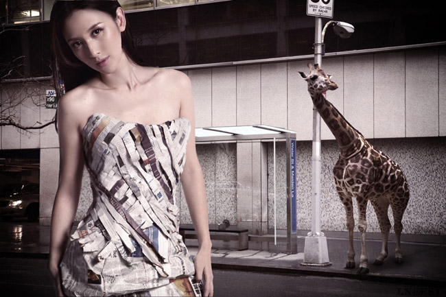Váy giấy đẹp như mơ của sao Hàn - 11