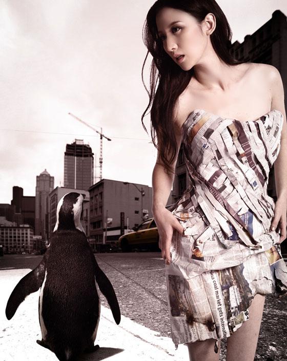 Váy giấy đẹp như mơ của sao Hàn - 15
