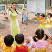 Hà Nội: 5.000 chỉ tiêu biên chế giáo viên mầm non
