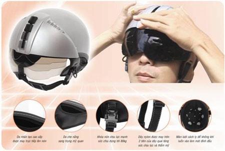 Mũ bảo hiểm an toàn, đẹp theo phong cách Ý - 1