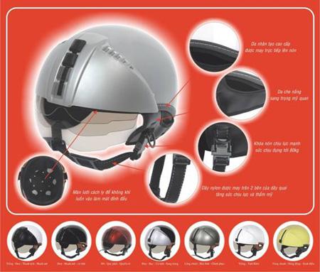 Mũ bảo hiểm an toàn, đẹp theo phong cách Ý - 2