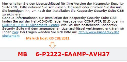 Miễn phí key bản quyền 1 năm Kaspersky Security Suite CBE 11 - 3