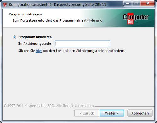Miễn phí key bản quyền 1 năm Kaspersky Security Suite CBE 11 - 5